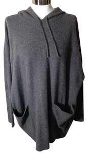 DKNY Tunic Pullover Hooded Sweater