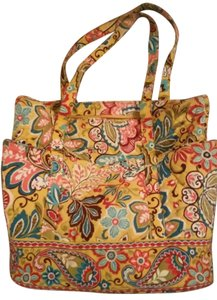 Vera Bradley Get Carried Away Tote in Provencal yellow
