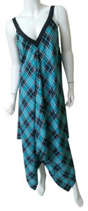 Maxi Dress by Michael Kors Summer Plaid Maxi