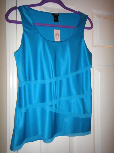 Ann Taylor Top Blue