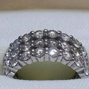 Diamond Eternity Bands (3 Rows)