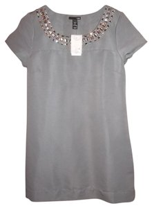 H&M short dress Gray Jeweled on Tradesy