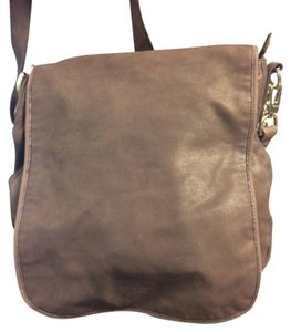 7 For All Mankind Brown Messenger Bag