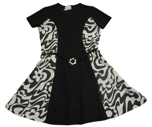 Expressions short dress Black & White Vintage 60's Mod on Tradesy