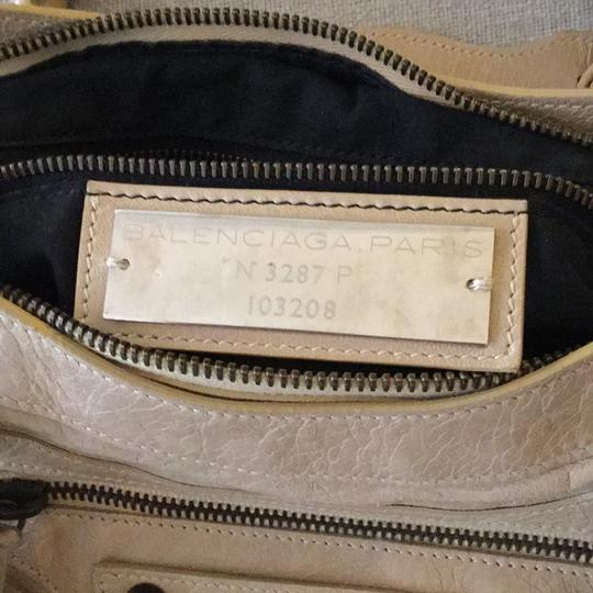 Balenciaga Satchel in Taupe