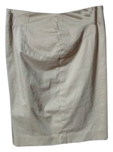 The Limited Pencil Skirt Beige