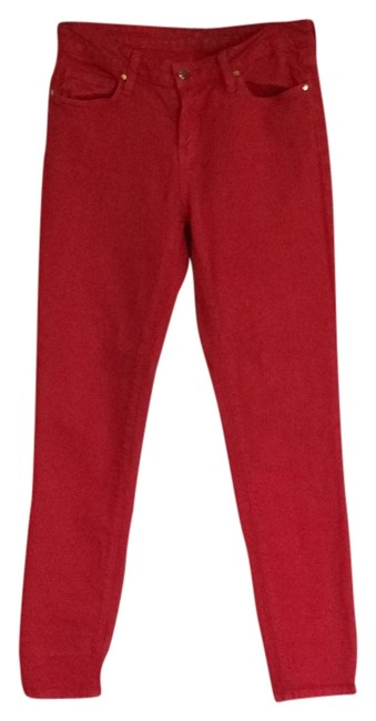 Item - Red Skinny Jeans Size 28 (4, S)