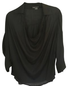 Vince Silky Casual Top Black