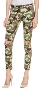 DL1961 Emma Power Camouflage Skinny Jeans-Distressed