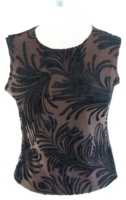 Hanky Panky Velvet Top Black and Brown