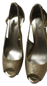 Worthington Silver/Gold Pumps
