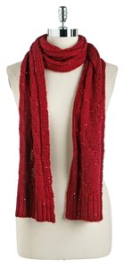 Calvin Klein Price Reduced..Sequin Scarf & Fingerless Glove Set