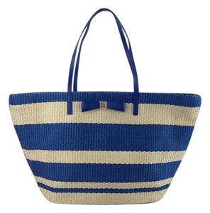 Kate Spade Tote in Natural Blue
