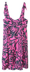 Marc Jacobs short dress Fuchsia Cocktail Designer Silk Blend Pink Pockets on Tradesy