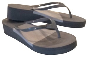 Calvin Klein Silver/grey & white Sandals