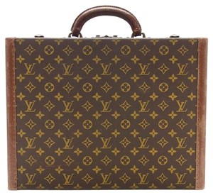 Louis Vuitton Monogram Vintage Collectible brown Travel Bag