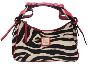 Dooney & Bourke Leather Zebra Handbag Shoulder Bag