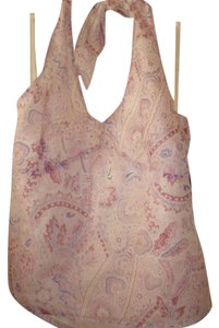 Kenneth Cole Pink & Lavendar Halter Top