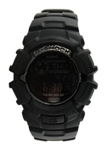 G-Shock G-Shock Casio Men's Black Solar Atomic Watch 42mm