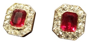 unknown Faux Ruby Holiday Jewels