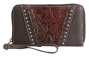 Montana West TR12-W003 Trinity Ranch Tooled Design Wallet