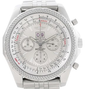 Breitling Breitling Bentley Motors Chrono Silver Dial Steel Mens Watch A44362