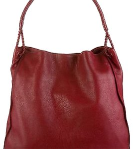 Bottega Veneta Bottega Hobo Bottega V Bottega V Satchel Bottega V Tote in Dark Red