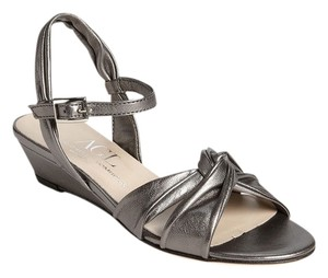 Attilio Giusti Leombruni Leather Agl Silver Sandals