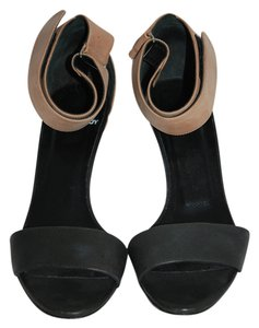 Pierre Hardy white/black/brown Sandals