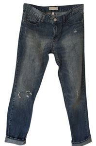 Banana Republic Distressed Boyfriend Cut Jeans