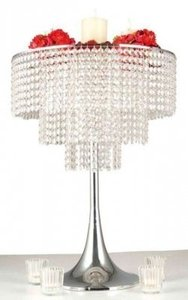 Silver 10 Crystal Never Used Three Tier Crystal Chandelier Wholesale Crystal Wholesale Centerpiece
