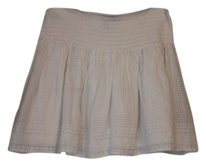 American Eagle Outfitters Country Gauze Skirt White
