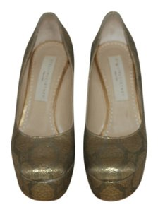 Stella McCartney gold Pumps