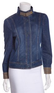 Escada Dark Denim Womens Jean Jacket