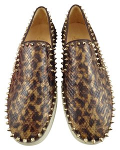 Christian Louboutin Brown Athletic
