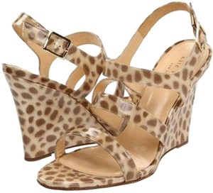 Kate Spade Leopard Print multicolor Sandals