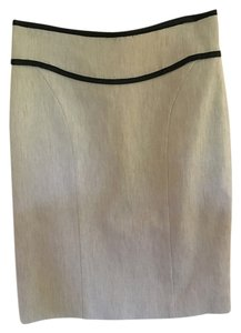 Narciso Rodriguez Beige Mid-thigh Classic Skirt wheat with black details