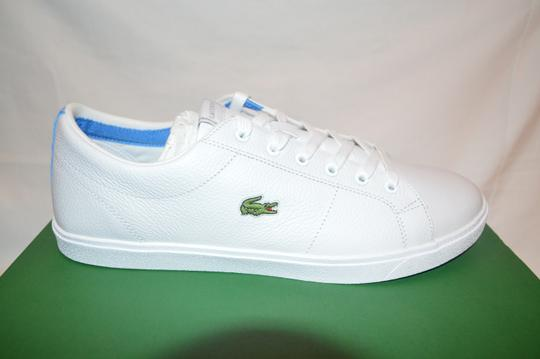 Lacoste Marcel Cup White/Blue Leather Womens Athletic