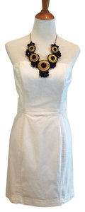 Rachel Roy short dress White Strapless Mini on Tradesy