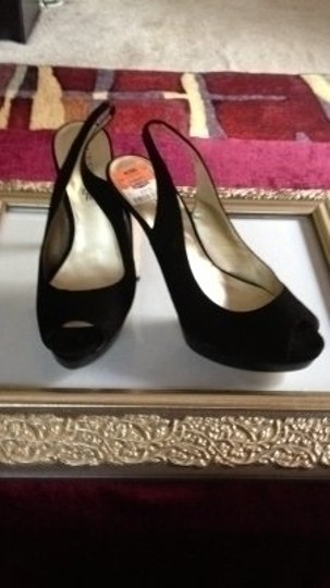 Guess By Marciano black Platforms
