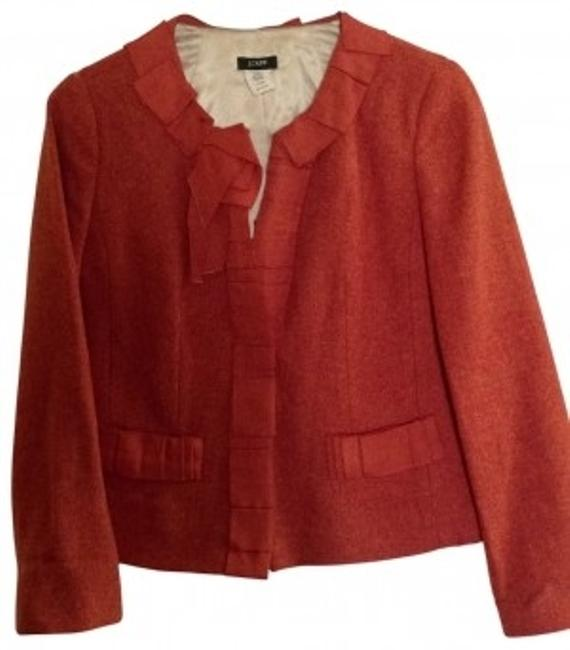 J.Crew Burnt Orange Blazer