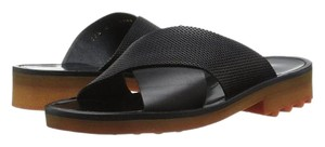 Robert Clergerie La Garconne Black Sandals