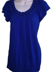 Elle Top Blue