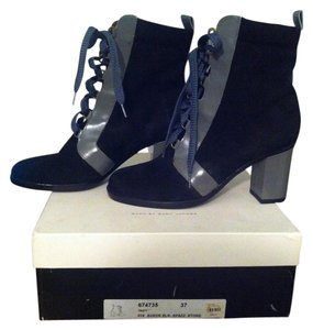 Marc by Marc Jacobs Black and Stone Boots