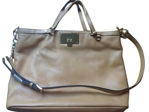 Michael Kors Micheal Korres Leather Handbag Shoulder Bag
