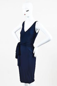 Donna Karan Blue Jersey Dress