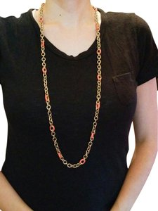 J.Crew chain link and enamel
