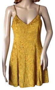 Victoria's Secret short dress Gold on Tradesy