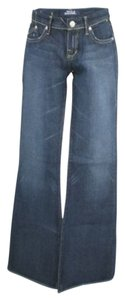 Rock & Republic Retro Flare Leg Jeans-Dark Rinse
