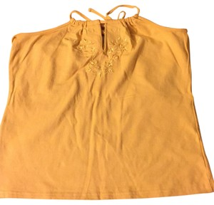 Arizona Mustard Halter Top